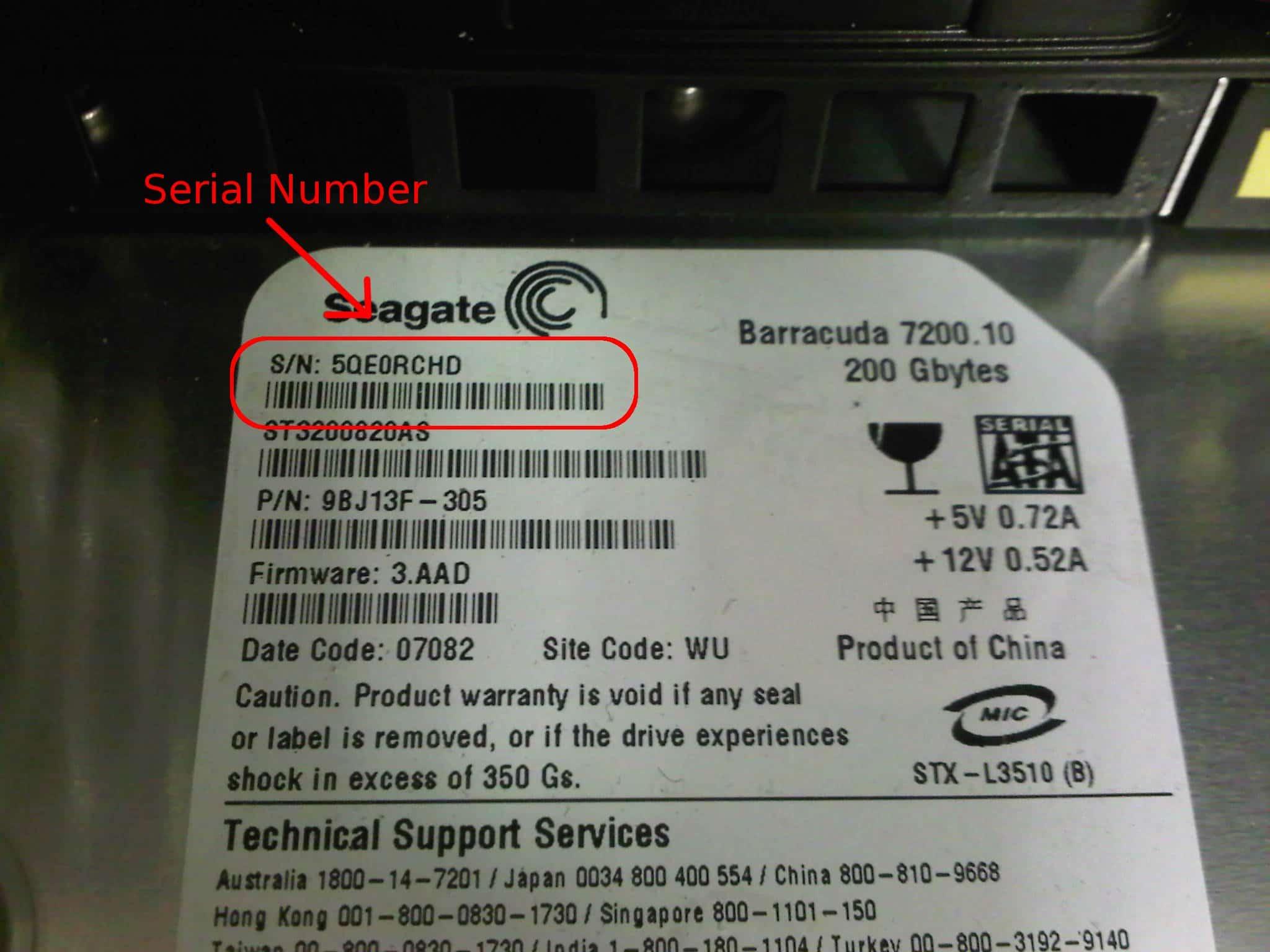 seagate barracuda serial number1