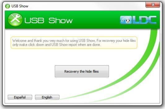 usb show 16
