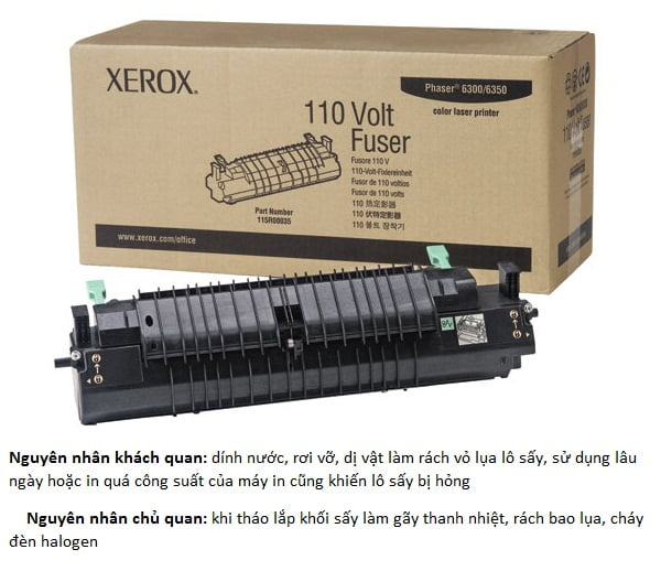 xerox fuser assembly